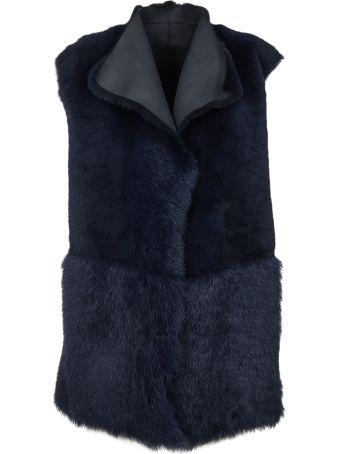 Paul Smith Fur-trimmed Vest