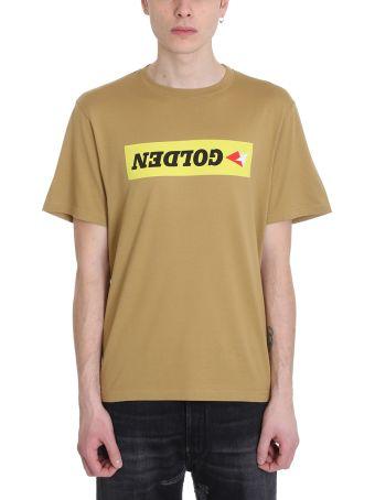 Golden Goose Golden Khaki Cotton T-shirt