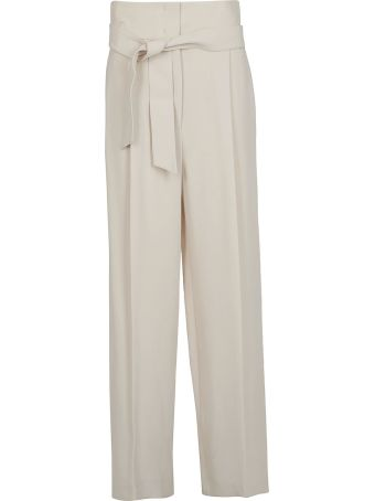 Weekend Max Mara Tie Waist Trousers