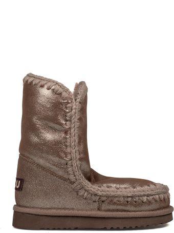 Mou Brown Glitter Eskimo 24 Low Boot