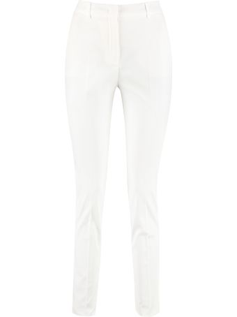 Max Mara Studio Massa Cotton Gabardine Trousers