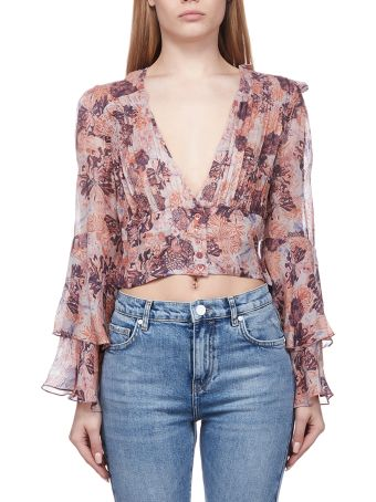 IRO Floral Cropped Top