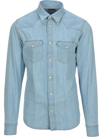 Z Zegna Z-zegna Texana Denim Shirt