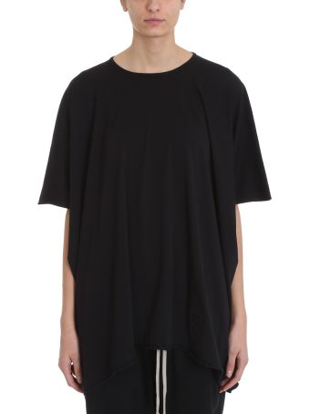 DRKSHDW Minerva Black Cotton T-shirt