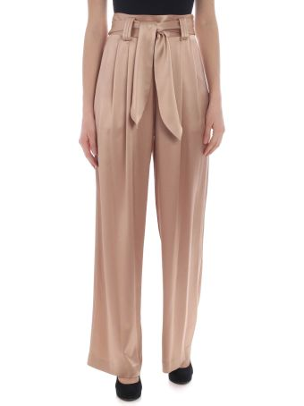 Tory Burch Shiny Belted Trousers