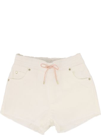 Chloé Drowstring Fitted Shorts