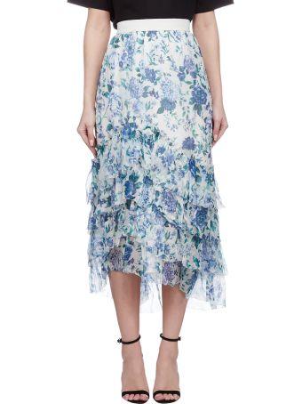 Zimmermann Asymmetric Printed Dress