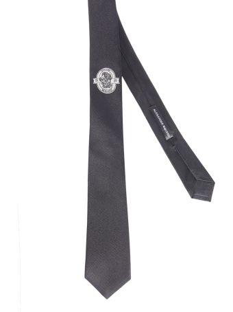 Alexander McQueen Skull Tie