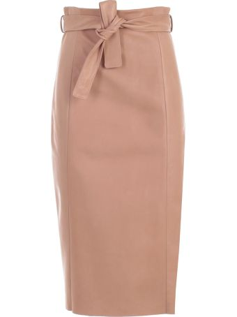 DROMe Belted Skirt