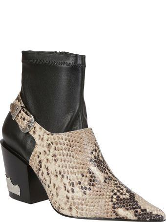 Toga Pulla Toga Pulla Snakeskin Buckle Detail Boots