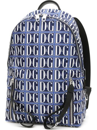 Dolce & Gabbana D&g Logo Nylon Backpack