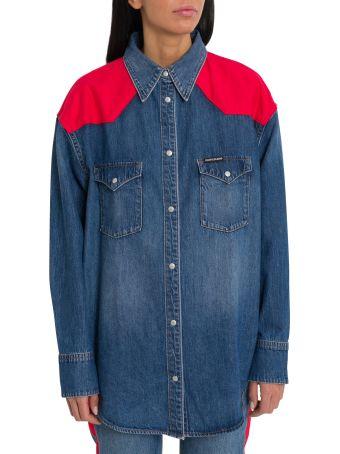 Calvin Klein Jeans Oversized Western Denim Shirt