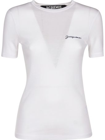 Jacquemus Embroidered Logo T-shirt