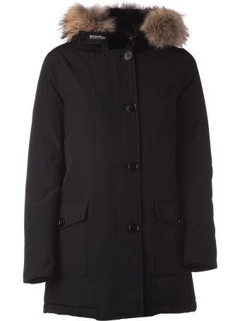 Woolrich Black Winter Parka