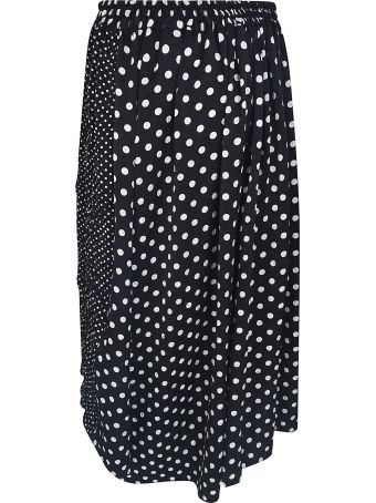 Y's Dotted Print Skirt