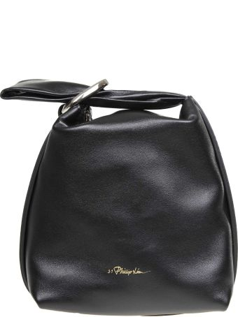 3.1 Phillip Lim Phillip Lim Ines Hand Bag In Black Color Leather