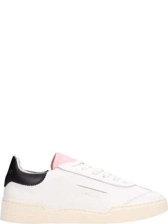 GHOUD Low White Leather Sneakers