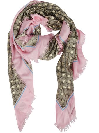 Gucci Frayed Scarf