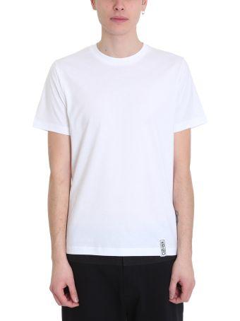 Kenzo Basic White Cotton T-shirt