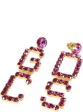 GCDS Mix Strass Earrings