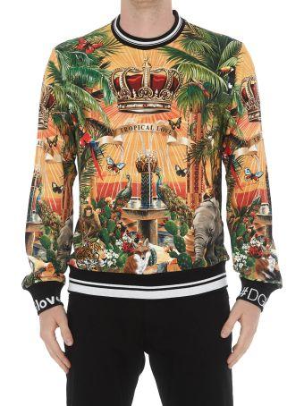 Dolce & Gabbana Tropico Dg King Sweatshirt