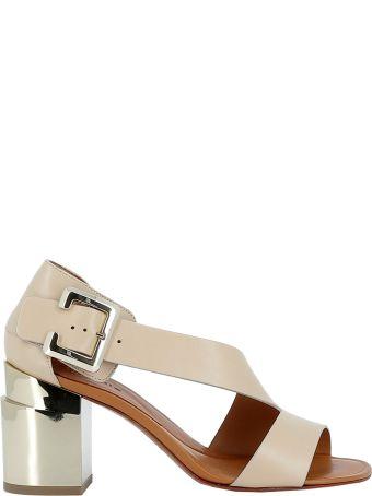 Robert Clergerie Argile Leather Sandals