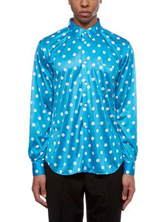Comme Des Garçons Homme Plus Polka-dot Shirt