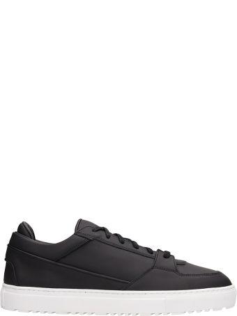 Etq Black Leather Low 3