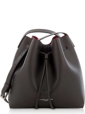 Lancaster Paris Pur & Element Saffiano Small Two Tone Bucket Bag