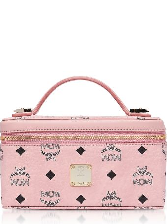MCM Visetos Original Rockstar Vanity Case Crossbody Bag