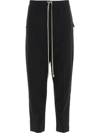 Rick Owens 'drawstring Cropped Astaires' Pants