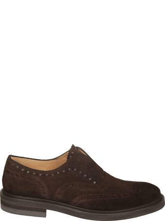 Seboy's Perforated Oxford Shoes