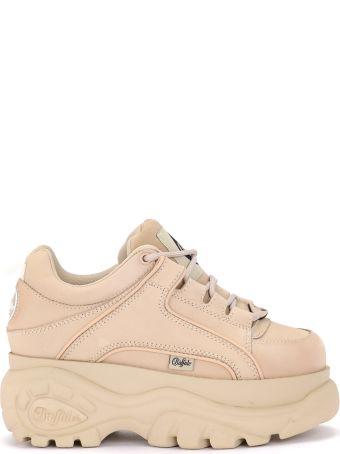 Buffalo 1339 Cream Nubuck Sneaker