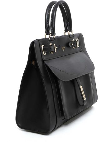 Fontana Couture 'a' Small Togo Handbag