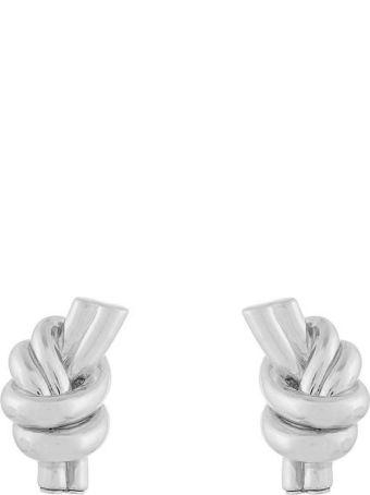 J.W. Anderson Metal Knot Earrings
