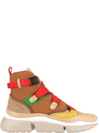 Chloé Chloe' High Top Sneakers