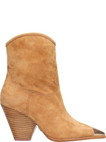 Lola Cruz Browne Suede Texan Boots