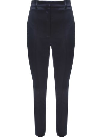 Rokh Button-back Satin Trousers