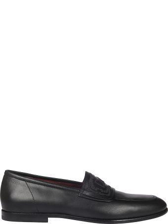 Dolce & Gabbana Logo Detail Loafers