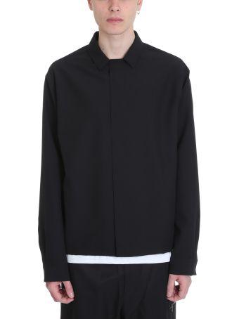OAMC Se Poliester Black Shirt