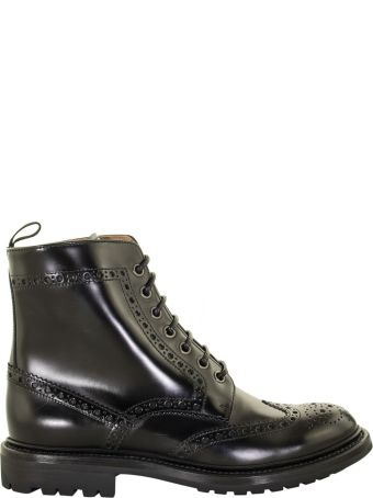 Church's Angelina Polished Lace-up Boot