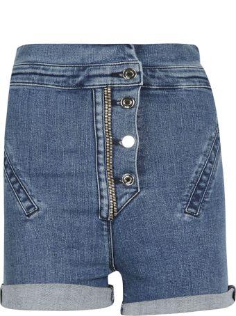RTA High Waist Denim Shorts