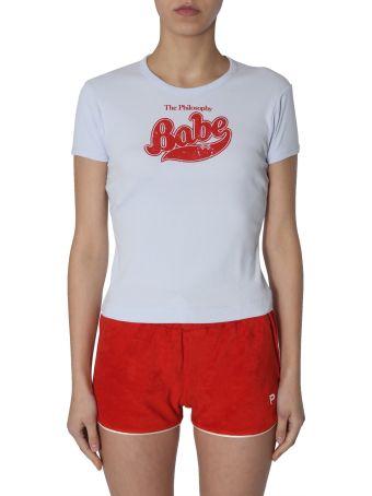 Philosophy di Lorenzo Serafini T-shirt With Babe Print