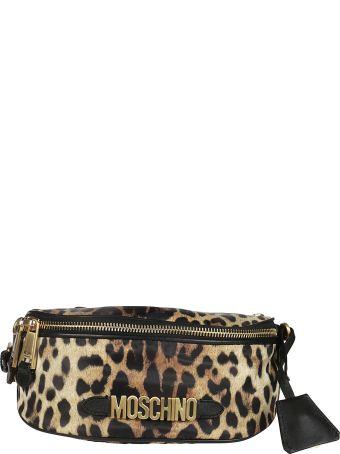 Moschino Leopard Belt Bag
