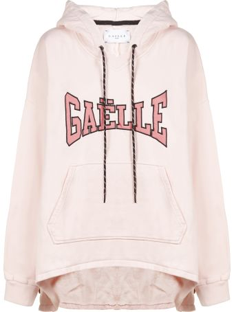 Gaelle Bonheur Logo Asymmetric Hoodie