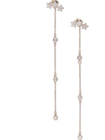 Federica Tosi Long Mini Stars Earrings