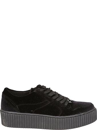 Windsor Smith Oracle Velvet Sneakers