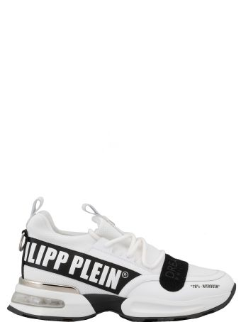 Philipp Plein Leather And Fabric Sneaker