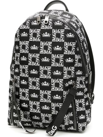 Dolce & Gabbana D&g Crown Nylon Backpack