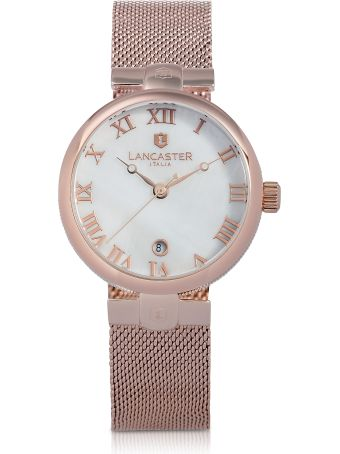 Lancaster Paris Lancaster Chimaera Rose Gold Stainless Steel Watch